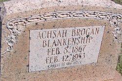 Achsah Brogan Blankenship