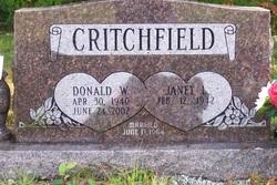 Donald Wayne Critchfield