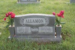 Mary Ann <i>Richardson</i> Allamon