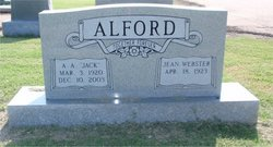 Arold Abraham Jack Alford