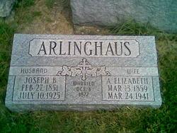 Anna Elizabeth <i>Kohorst</i> Arlinghaus