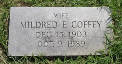 Mildred Elizabeth <i>Joplin</i> Coffey