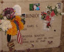 Virginia <i>Martin</i> Binion