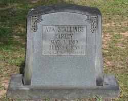 Ada <i>Stallings</i> Farley