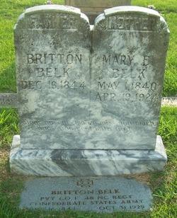 Mary E Belk