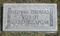 Hedwig Hattie <i>Thomas</i> Apgar