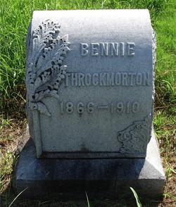 Dr Benjamin E. Bennie Throckmorton