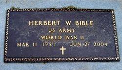 Herbert W. Herb Bible