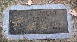Lura <i>Mount</i> Alsup