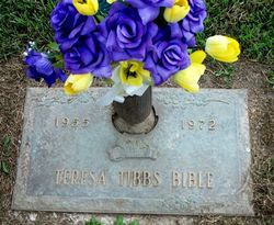 Teresa <i>Tibbs</i> Bible