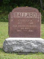 Charles M Ballard