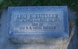 Lieut Edward Leo Bud Eutsler