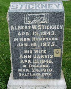 Anne <i>Jarvis</i> Stickney