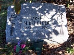 Carrie Burkholder