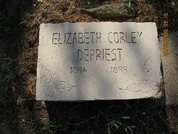 Elizabeth <i>Corley</i> DePriest