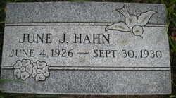 June Jeanette Hahn