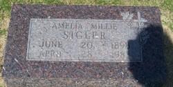 Amelia Millie <i>Leiker</i> Sigler