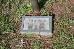 Loves M Cooper