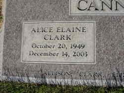 Alice Elaine <i>Clark</i> Cannon