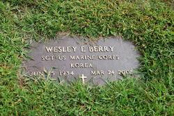 Sgt Wesley E Berry