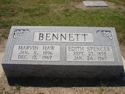 Edith <i>Hankins</i> Spencer Bennett