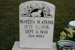Martha M Atkins
