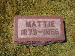 Martha Jane Mattie <i>Barnett</i> Killoren
