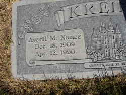 Averil M. <i>Nance</i> Kreipl