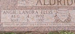 Angie Lanora <i>Ellis</i> Aldridge