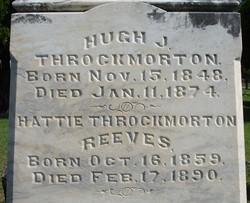 Hattie <i>Throckmorton</i> Reeves