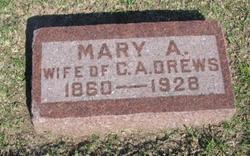 Mary A. <i>Geisler</i> Drew