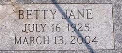 Betty Jane Chichester