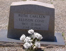 Ruth Carlsen <i>Ellison</i> Cone