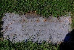 Ralph L Bowman