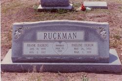 Pauline Wilson <i>Derum</i> Ruckman