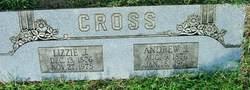 Lizzie Jane <i>Spessard</i> Cross
