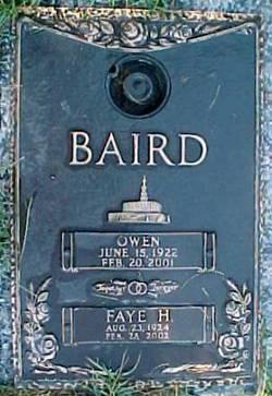Faye <i>Hibbard</i> Baird