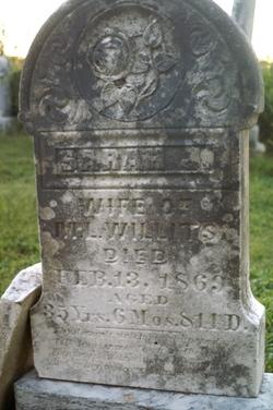 Sarah J. Willits