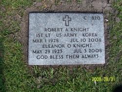 Lieut Robert A Knight
