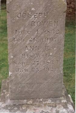 Ann E. <i>Allen</i> Bowen