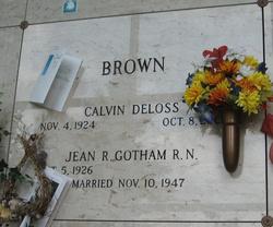 Calvin Deloss Brown