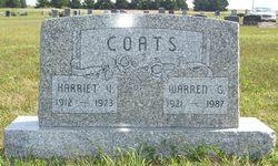 Harriet V <i>Petersen</i> Coats