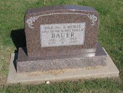 Pauline A. <i>Bauer</i> Morse