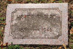 Hattie M. <i>Wemple</i> Bird