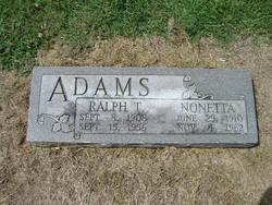 Ralph T. Adams