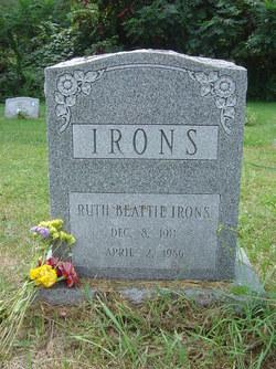 Ruth Evelyn <i>Beattie</i> Irons