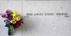 Anna Louise <i>Givens</i> Amerise