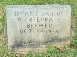 Infant Daughter Brewer