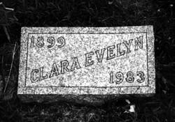 Clara Evelyn <i>Rishel</i> Thayer