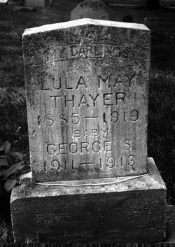 Lula May <i>Walters</i> Thayer